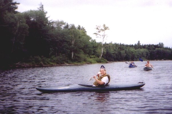 Enjoy a quit paddle in one of our rental kayaks